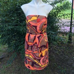 Merona Strapless Dress Size 8